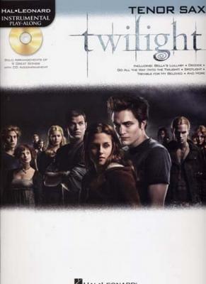 Instrumental Play Along Twilight Tenor Sax Cd