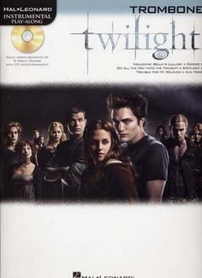 Instrumental Play Along Twilight Trombone Cd