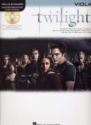 Instrumental Play Along Twilight Viola Cd