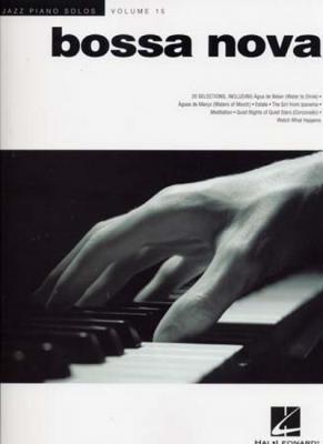 JAZZ PIANO SOLOS VOL.15 BOSSA NOVA