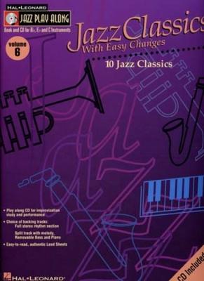Jazz Play Along Vol.06 Jazz Classics Bb Eb C Inst.