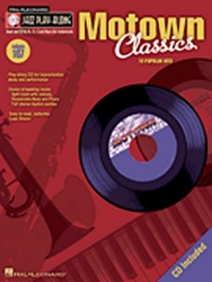 Jazz Play Along Vol.107 Motown Classics Bb Eb C Inst.