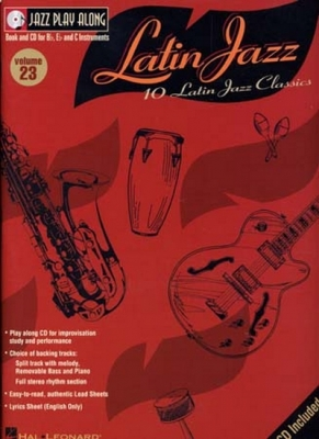 Jazz Play Along Vol.23 Latin Jazz C Bb And Eb