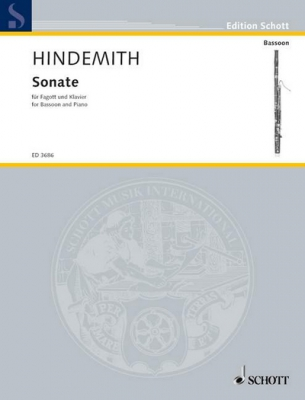 Hindemith Paul : Bassoon Sonata