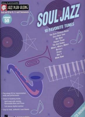 Jazz Play Along Vol.59 Soul Jazz Bb Eb C Inst.