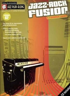 Jazz Play Along Vol.62 Jazz Rock Fusion Bb Eb C Inst.