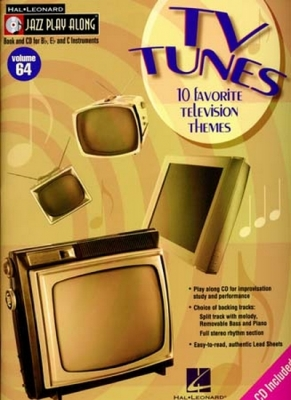 Jazz Play Along Vol.64 Tv Tunes Bb Eb C Inst.