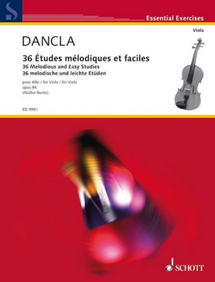 Dancla Charles : 36 Melodious and Easy Studies op. 84