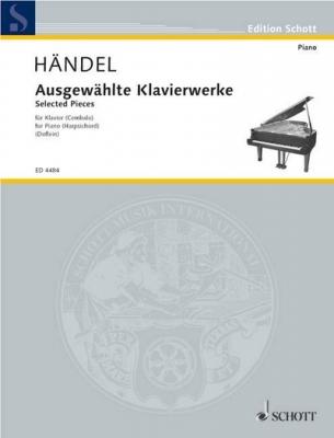 Haendel Georg Friedrich : Selected piano works
