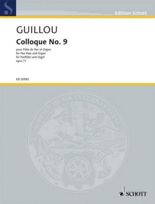 Guillou Jean : Colloque #9 op. 71