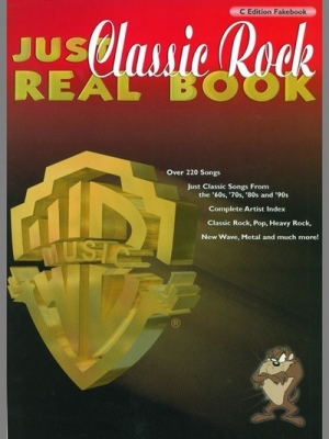 Just Classic Rock Real Book (C edition)