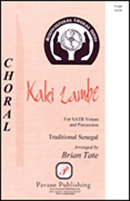 Kaki Lambe SATB And Percussion