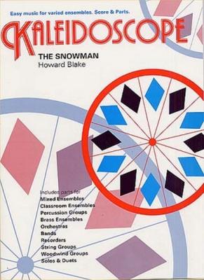 Kaleidoscope Snowman Blake Scores