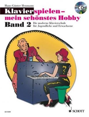 Heumann Hans-Günter : Klavierspielen - mein schönstes Hobby Band 2