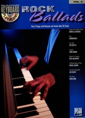 Keyboard Play Along Vol.6 Rock Ballads Cd