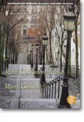 Castelnuovo-Tedesco Mario / Giuliani Mauro : Sonatina For Flute And Guitar op. 205, op. 127