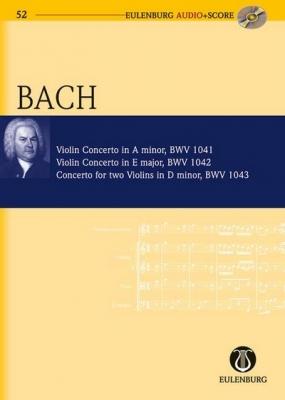 Bach Johann Sebastian : Violin Concertos, Concerto for two Violins BWV 1041/1042/1043