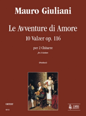 Le Avventure di Amore. 10 Waltzes Op 116