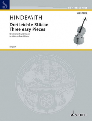 Hindemith Paul : Three easy Pieces