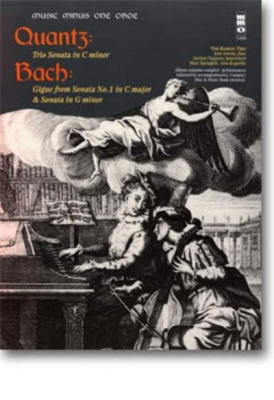 Trio Sonate C-Moll F. Ob. B Bach, Johann Sebastian B - Gigue (Sonate Nr. 1 C-Dur) F. Ob. (+Cd)