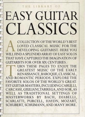 Library Of Easy Guitar Classics