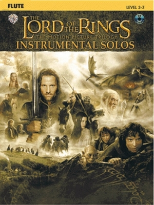 Lord Of The Rings Instrumental Solos Flute Cd