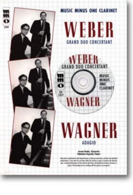 Grand Duo Concertant F. Klar. U. Kl. B Wagner, Richard B - Adagio F. Klar. U. Kl. (+Cd) Op. 48