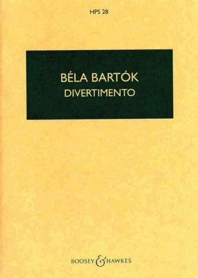 Bartok Béla : Divertimento