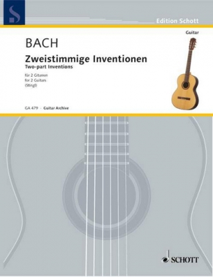 Complete Two-Part Inventions Bwv 772-786