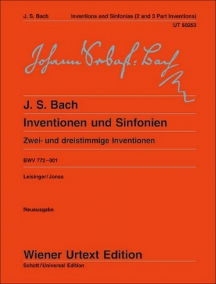 Inventions And Sinfonias Bwv 772 - 801