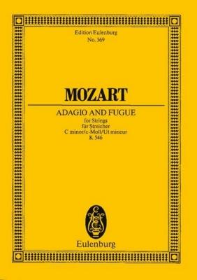 Mozart Wolfgang Amadeus : Adagio and Fugue C minor KV 546