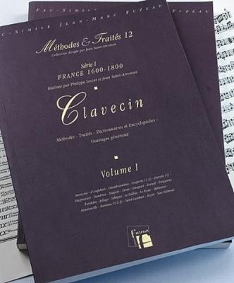 Méthodes et Traités Clavecin - 2 Volumes - France 1600-1800