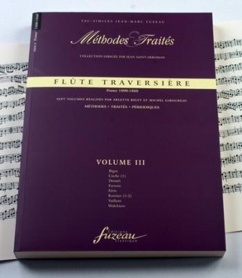 Méthodes et Traités Flûte traversière - Volume 3 - France 1800-1860