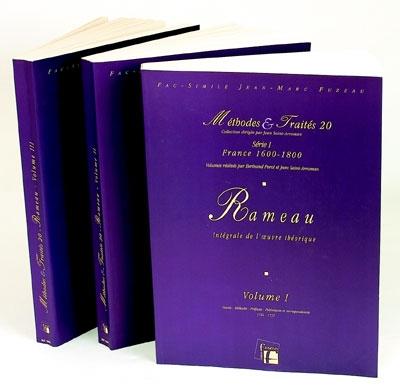 Méthodes et Traités Jean-Philippe Rameau - 3 Volumes - France 1600-1800