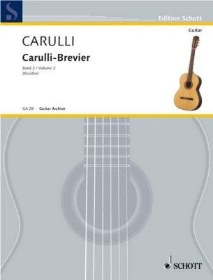 Carulli Ferdinando : Carulli-Brevier Vol. 2