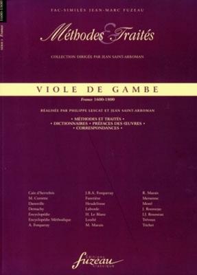 Méthodes et Traités Viole de gambe - France 1600-1800