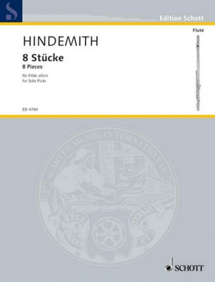 Hindemith Paul : 8 Pieces
