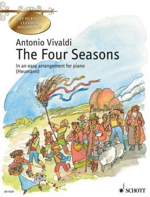 The Four Seasons Op. 8/1-4 (Les quatre saisons)