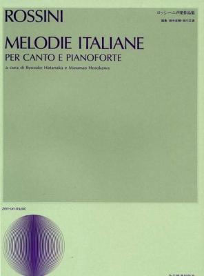 Rossini Gioacchino : Melodie Italiane