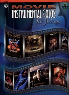 Movie Instrumental Solos Violon Cd