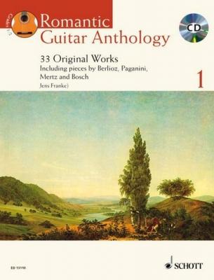 Franke Jens : Romantic Guitar Anthology Vol. 1