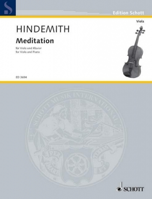 Hindemith Paul : Meditation