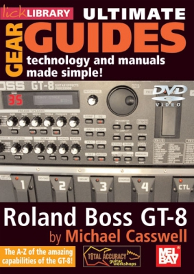 Dvd Lick Library Ultimate Gear Guides Roland Boss Gt-8