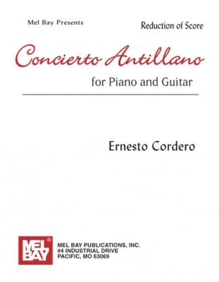 Cordero Ernesto : Concierto Antillano for Piano and Guitar