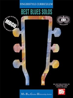 Gangel William : MBGU Fingerstyle Curriculum: Best Blues Solos