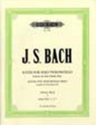 Bach Johann Sebastian : 6 Solo Violoncello Suites BWV 1007-1012 Vol.1
