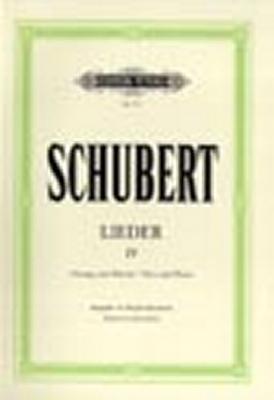 Schubert Franz : Songs Vol.4