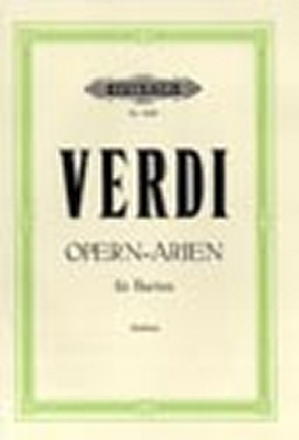 Verdi Giuseppe : 20 Baritone Arias