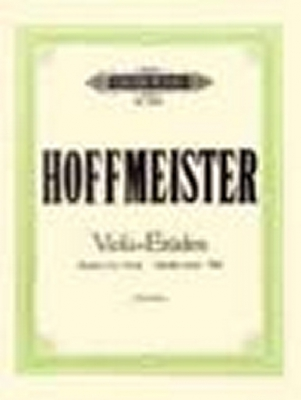 Hoffmeister Franz Anton : 12 Studies