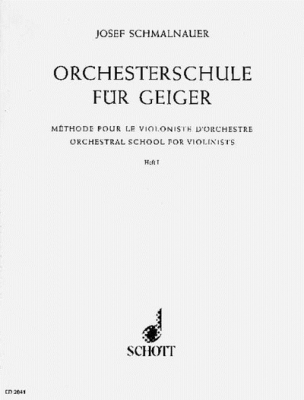 Orchestral School for Violinists Band 1